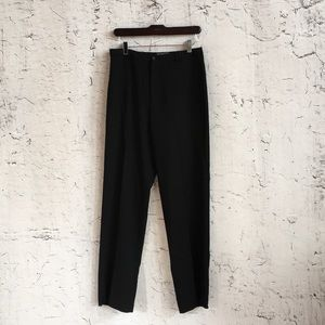 BANANA REPUBLIC BLACK WOOL TROUSERS 6